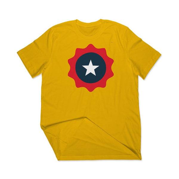 Star is Born : Yellow t shirt mens T Shirt Leoliy S Yellow