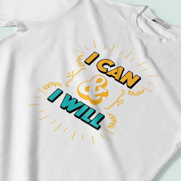 I can I will : India tee T Shirt Leoliy