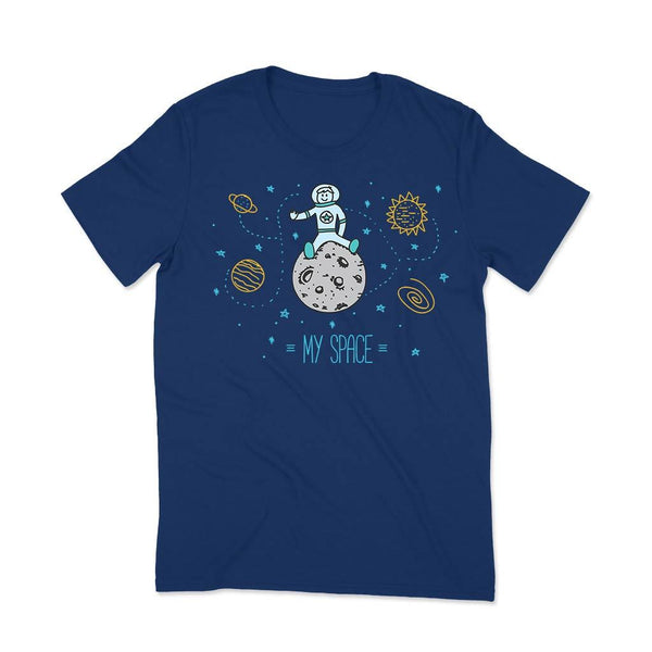 Graphic Tshirt : My Space T Shirt Leoliy S Navi Blue