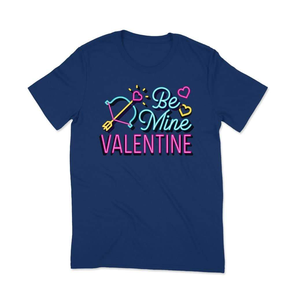 Be Mine Valentine : Couple t shirt love T Shirt Leoliy S Navi Blue
