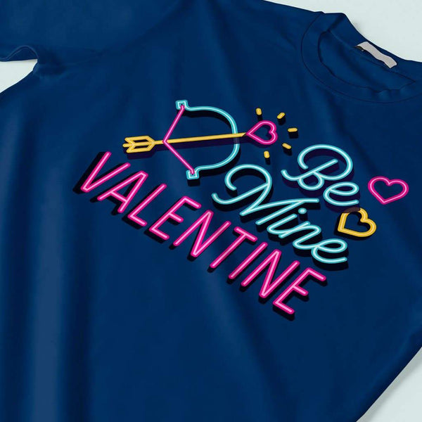 Be Mine Valentine : Couple t shirt love T Shirt Leoliy
