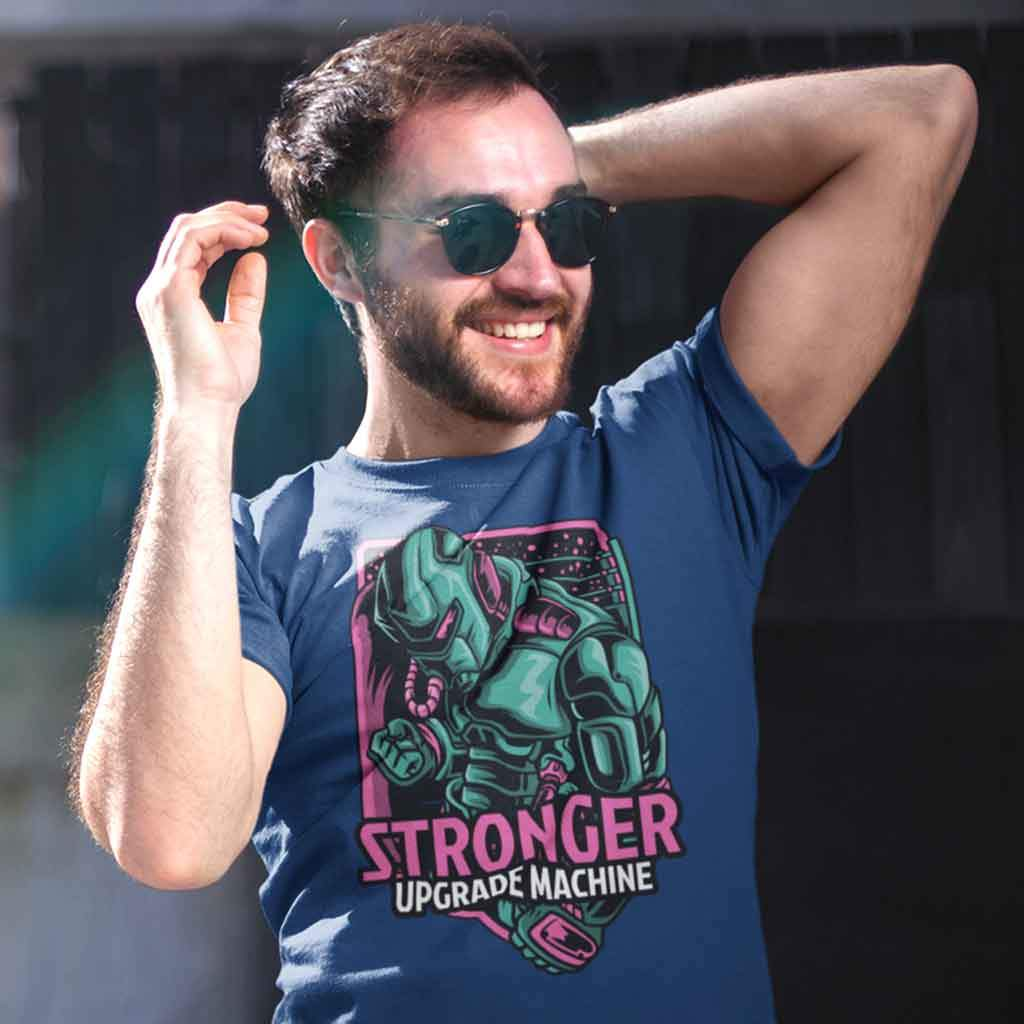 Gaming t shirts : Stronger T Shirt Leoliy