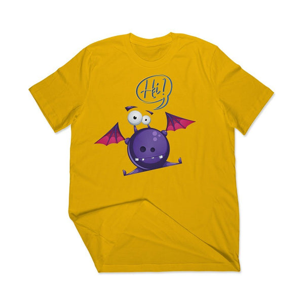 Funny Bat: Best online t shirts store T Shirt Leoliy S Yellow