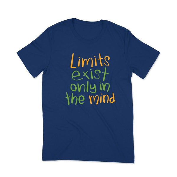 Limits : T-shirt for man style T Shirt Leoliy S Navi Blue
