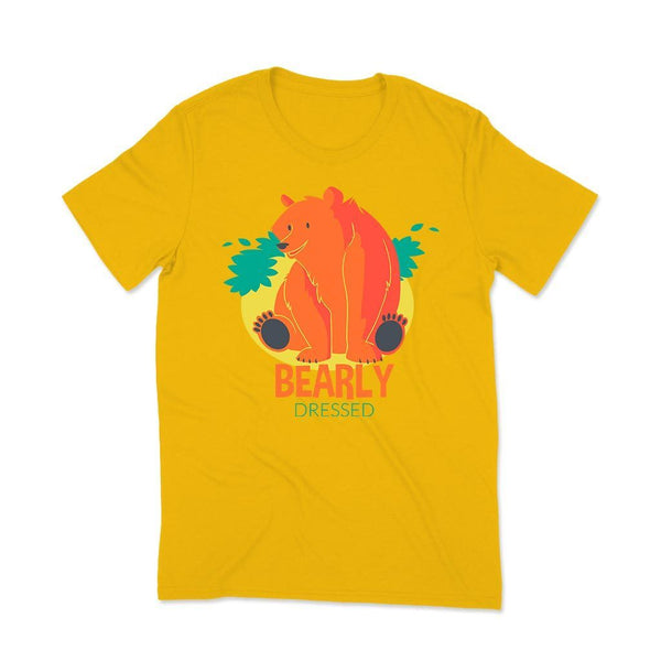 Yellow Man t-shirt T Shirt Leoliy S Yellow