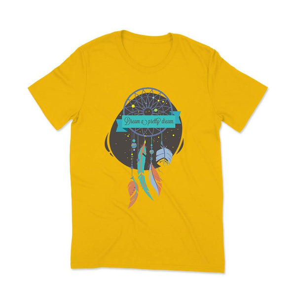 Printed T shirt Girls T Shirt Leoliy S Yellow