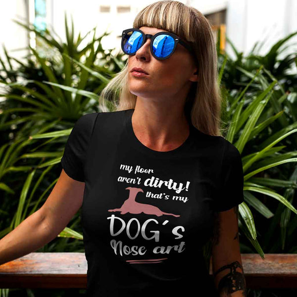 Tshirt for dog lovers Leoliy