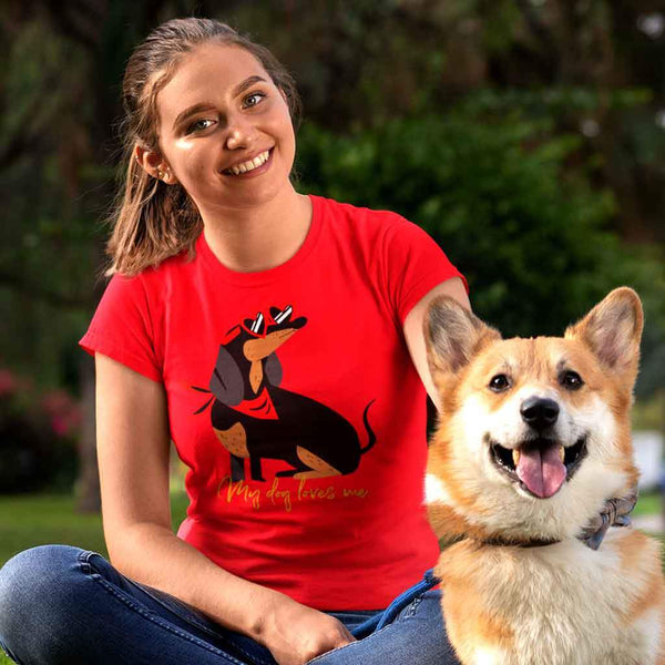 Women pet lover t-shirt T Shirt Leoliy