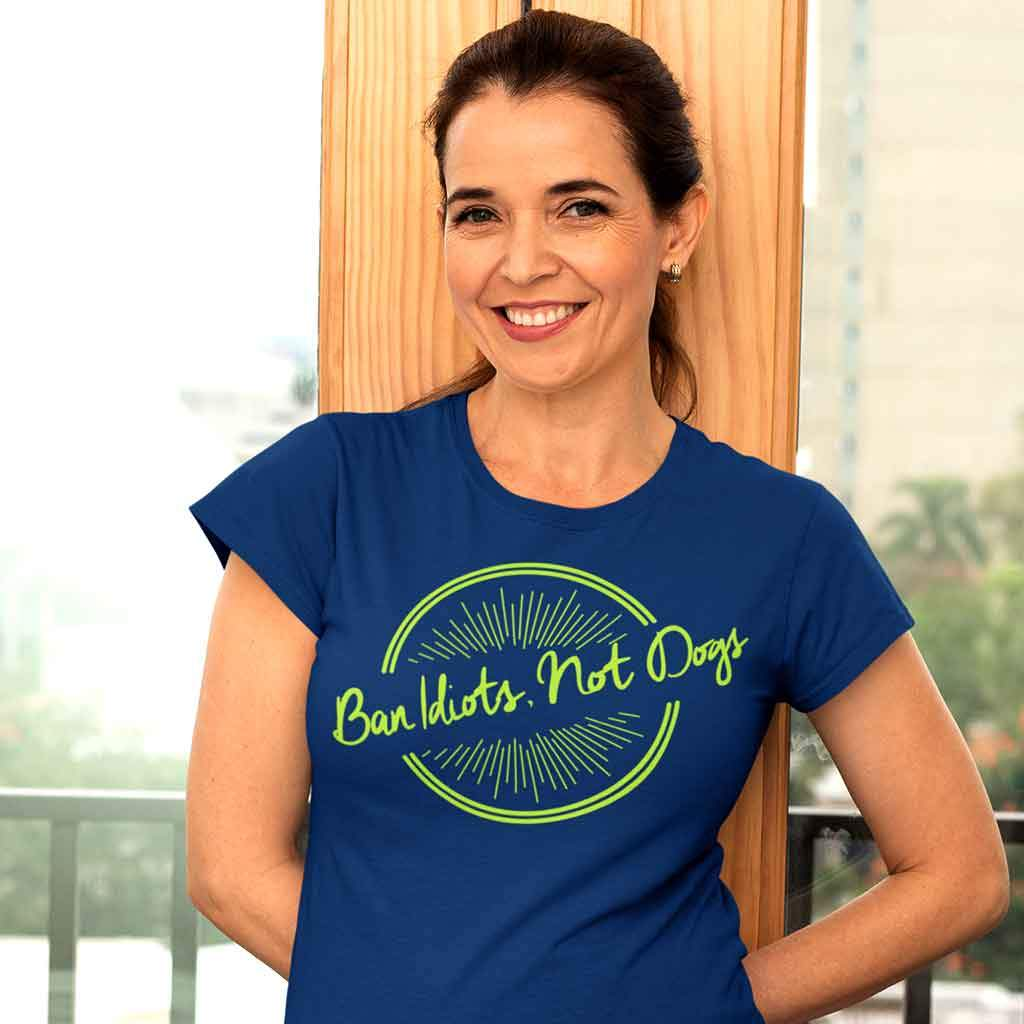 Women Dog quote t-shirts T Shirt Leoliy