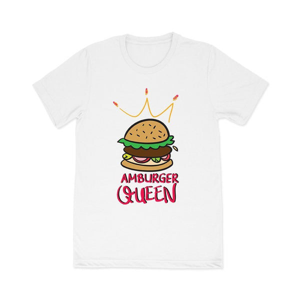 Hamburger Queen: Ladies tees T Shirt Leoliy S White
