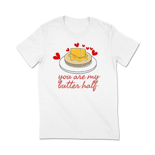 You r my better half : Couple t-shirt quotes T Shirt Leoliy S White