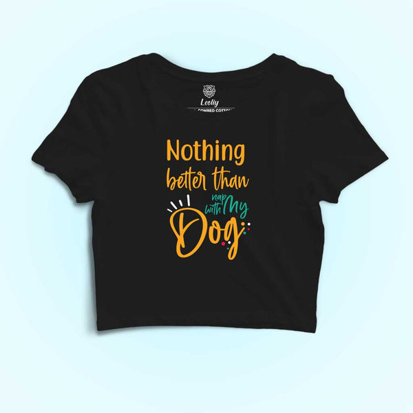 beautiful-girl-wearing-a-black-crop-top-tee-with-dog-lover-quotes