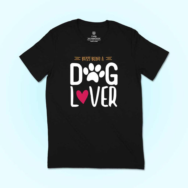 dog lover tshirt for women
