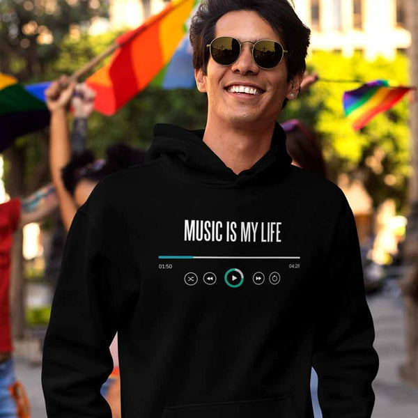 black-branded-hoodies-for-men-of-a-stylish-man-at-the-pride-parade