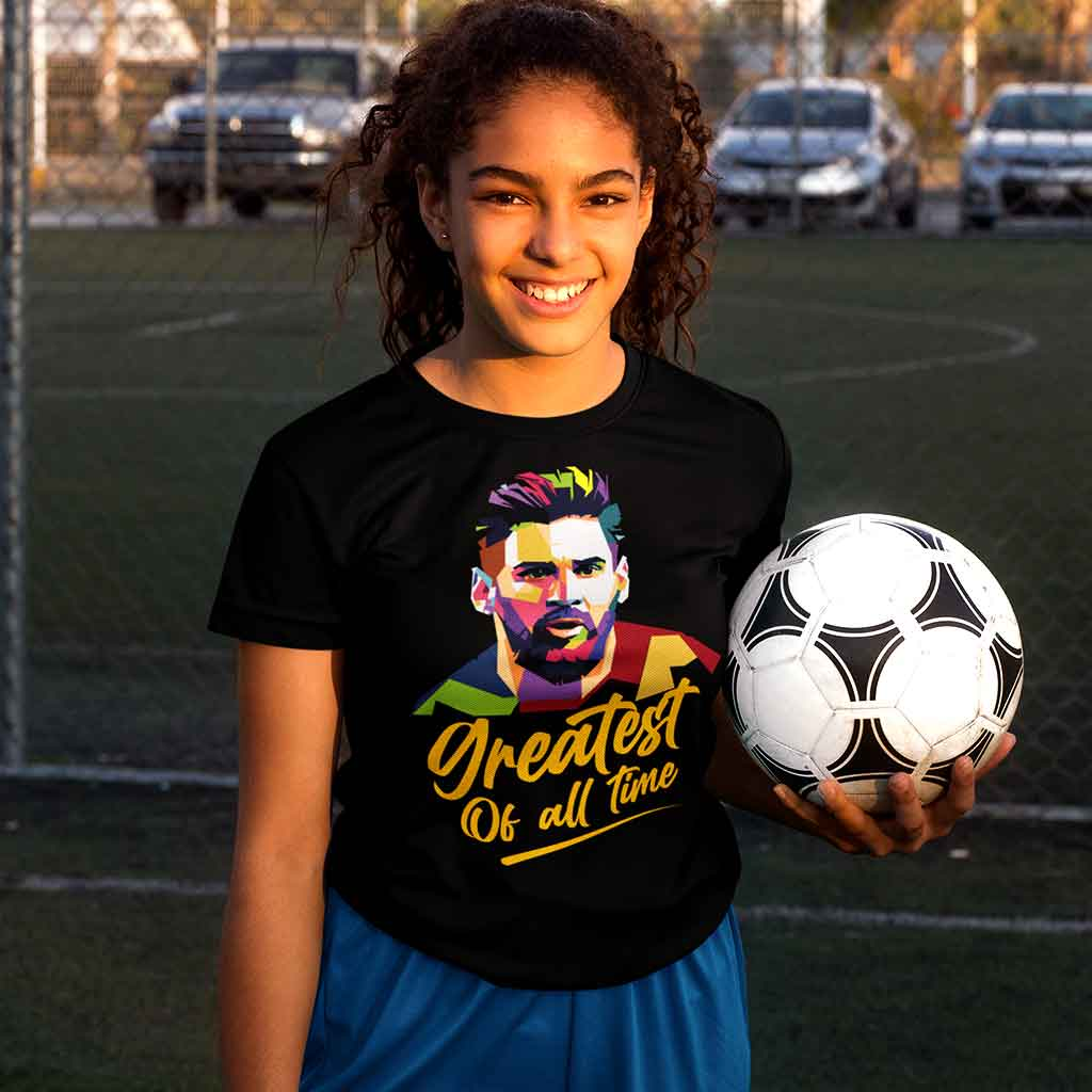 black-messi-t-shirt-featuring-a-teen-holding-a-soccer-ball