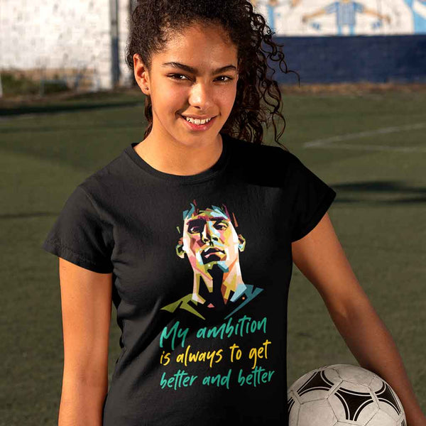 black-messi-t-shirt-number-featuring-a-female-soccer-player-holding-a-ball
