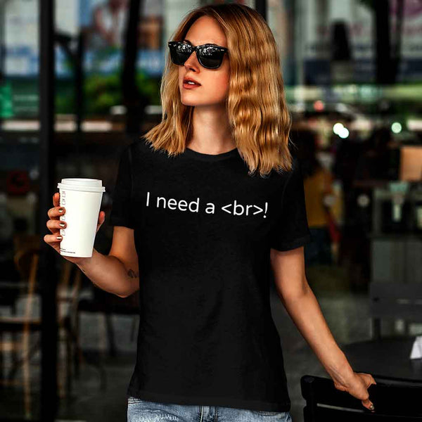 black-programmer-t-shirts-of-a-woman-at-an-urban-cafe