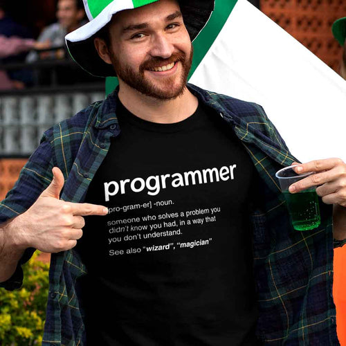 black-programming-t-shirt-featuring-a-joyful-man-celebrating-st-patricks-day-festivity