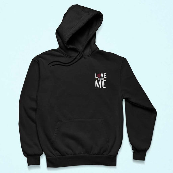 Love-rescued-me-hoodies-for-dog-lovers
