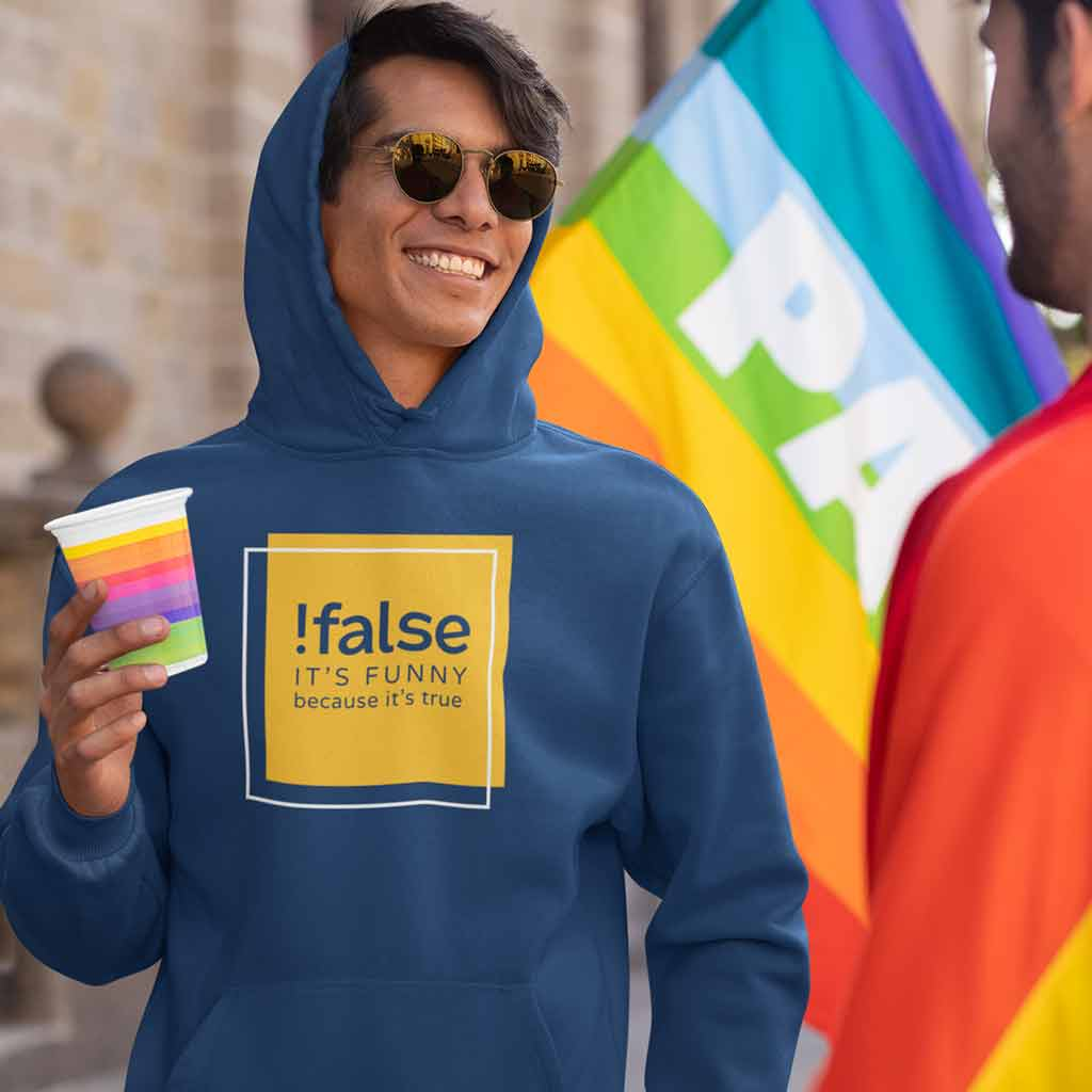 navy-blue-programmer-hoodie-india-man-with-a-sunglasses-at-the-pride-parade
