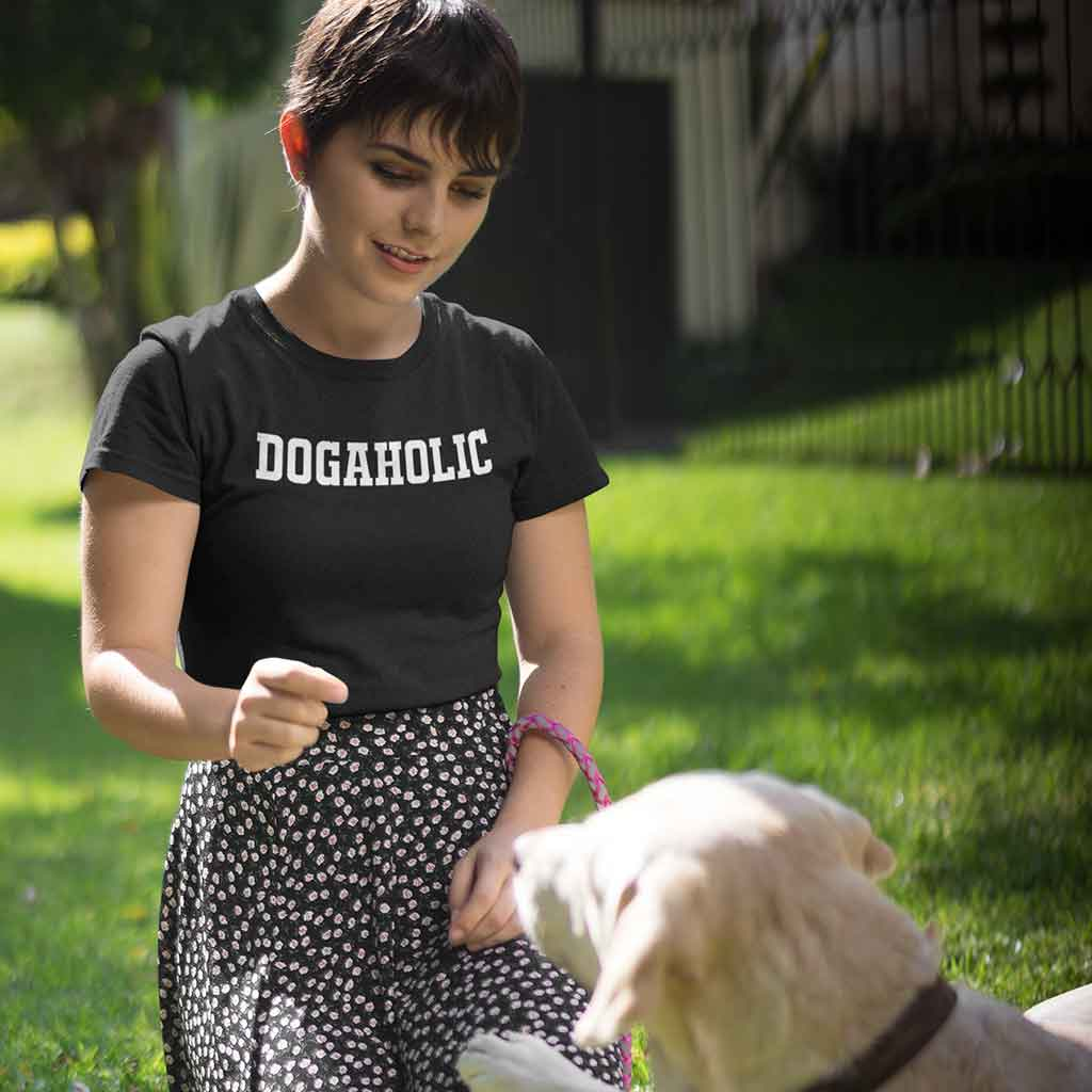 dog lover t shirts for women