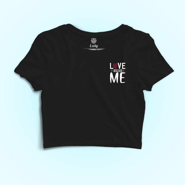 Love-rescued-me-crop-t-shirt-for-dog-lovers
