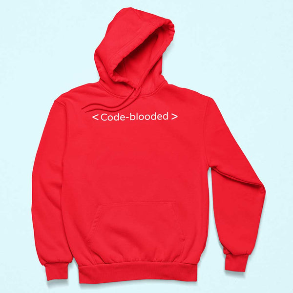 red-programmers-t-shirts-hoodie-of-a-pullover-hoodie-over-a-customizable-surface