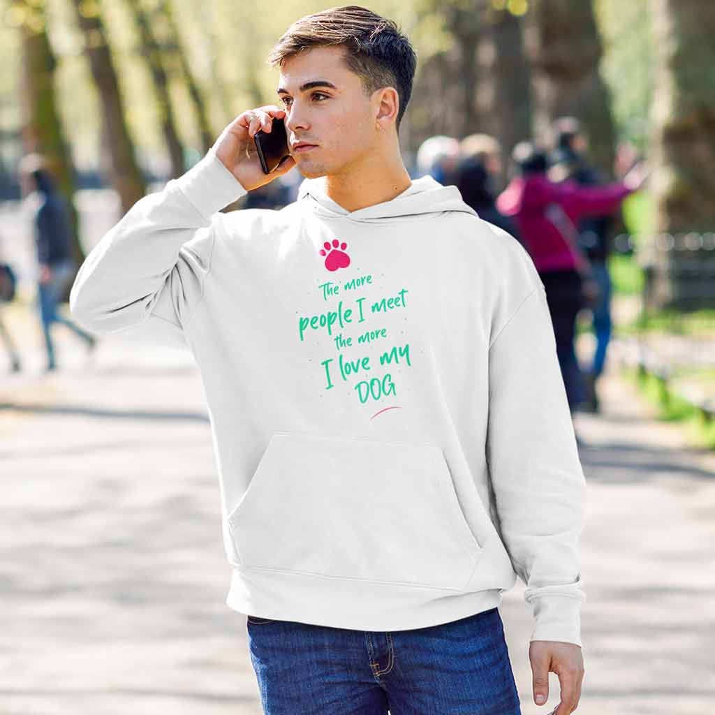 white-buy-hoodies-for-menof-a-man-talking-on-the-phone-at-a-park