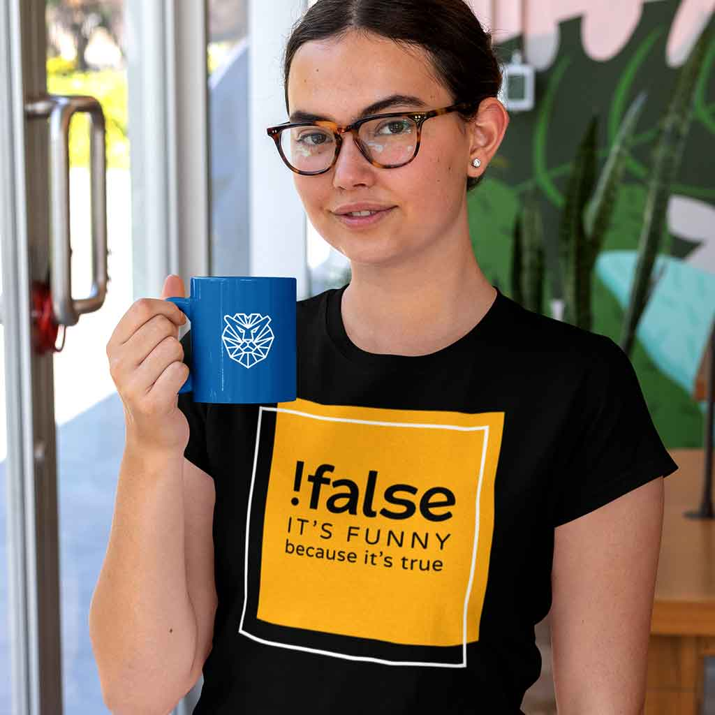 woman-with-glasses-wearing-a-black-coders-t-shirt-and-holding-an-11-oz-mug