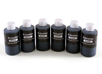 Bulk Black Dye Based Inkjet Ink - 1 Liter
