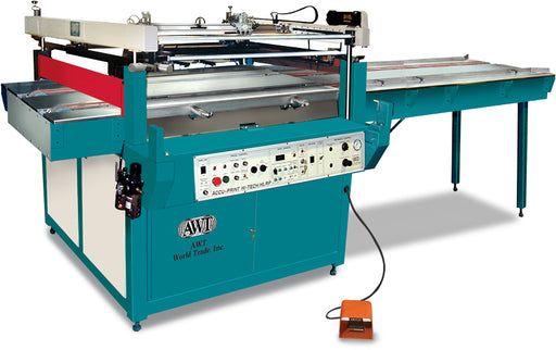 AWT Accu-Print High-Tech HL/RP™ Flatbed Press