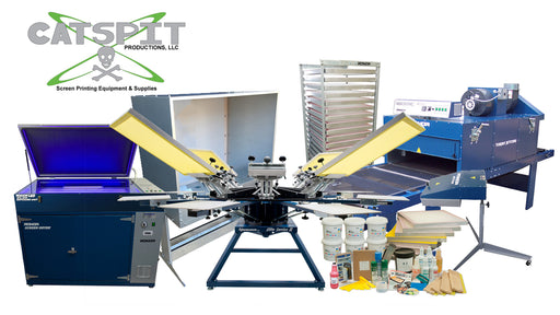 Cheetah Silk Screen Printing Package