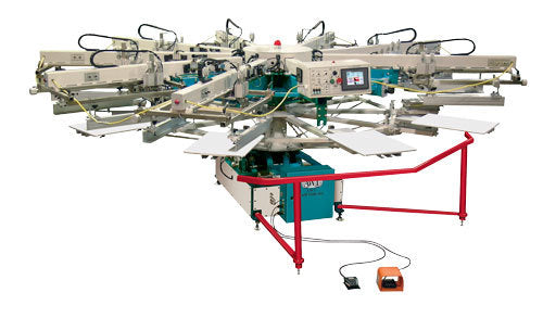 AWT Econo-Tex™ Automatic Textile Rotary Press