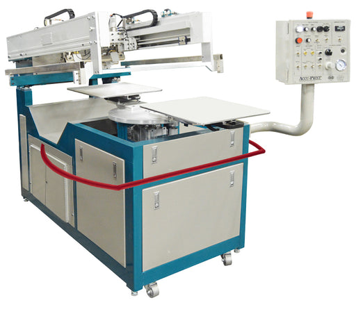AWT Equinox 1 Color 2 Station Textile Semi Automatic Press