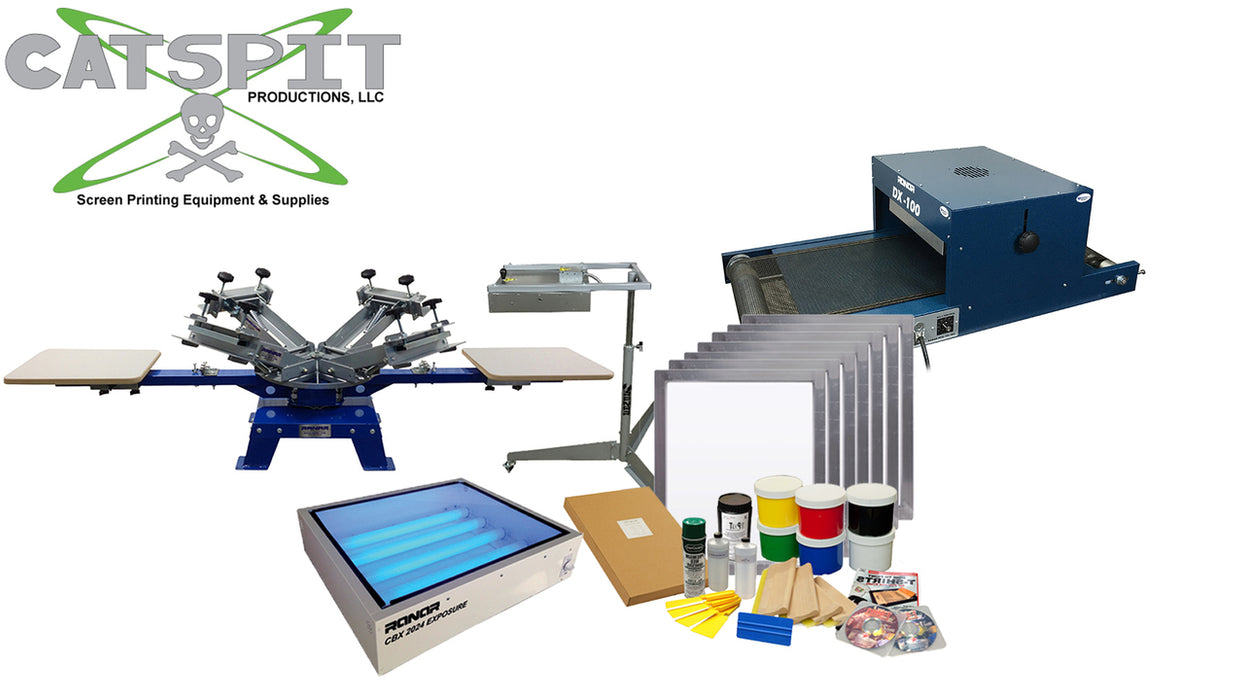 Mountain Lion Screen Printing Starter Kit