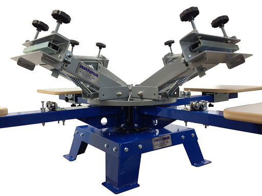 RANAR 4 Color, 4 Station Bench Top Press P4400BT