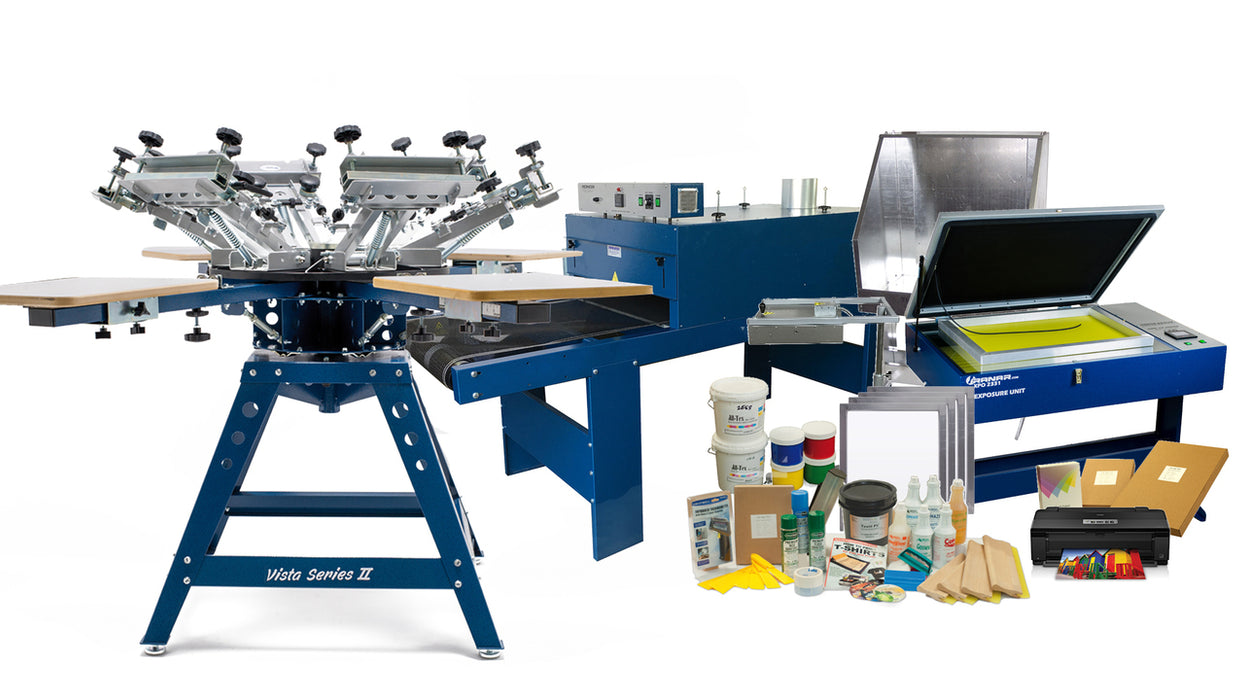 RANAR Primo Screen Printing Package