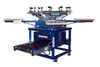 6 Color, 4 Station Cruiser Screen Printing System
