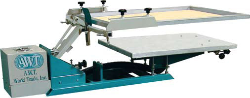 SE -1218M Screen Eze Vacuum Tabletop Graphic Press