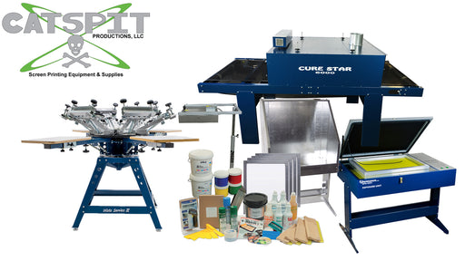 Tiger Silk Screen Printing Kit