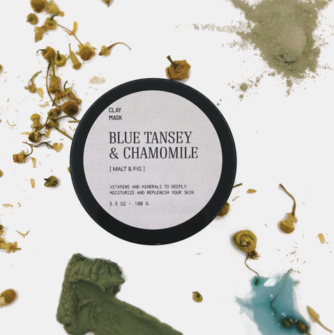 Blue Tansey & Chamomile Clay