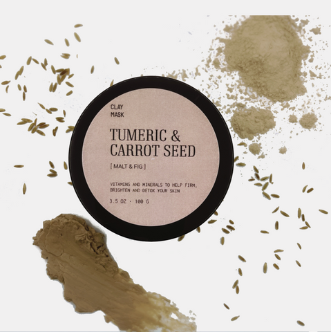 Tumeric & Carrot Seed Clay