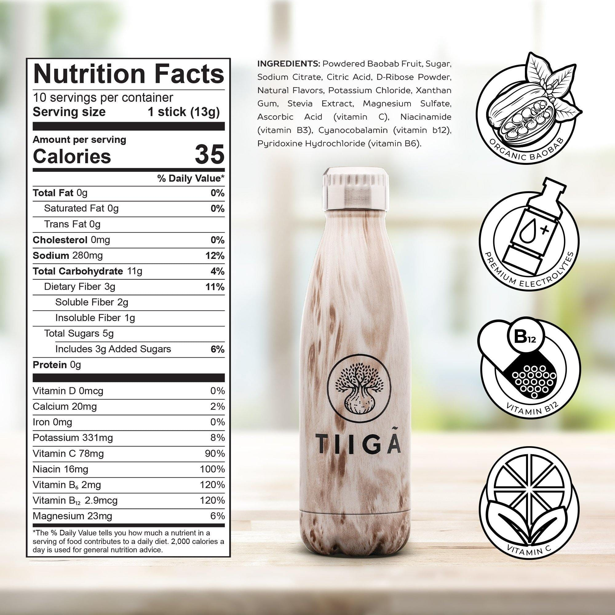 Nature's Hydration - Variety Pack - Tiiga
