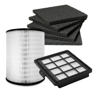 Vacuum and air purifier filters