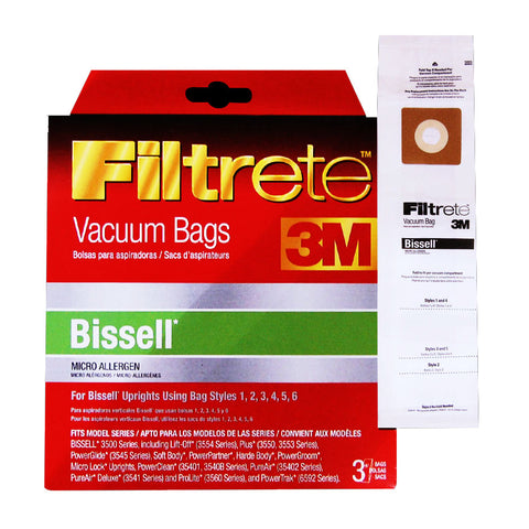 Bissell Universal (1, 2, 3, 4, 5, 6 and 7) Bags - MLvac.com