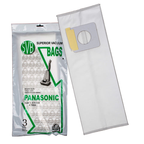BA70232 Panasonic Upright Dustlock Bags