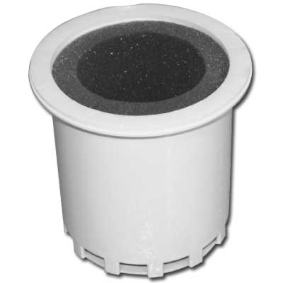 Central High Frequency Silencer, White