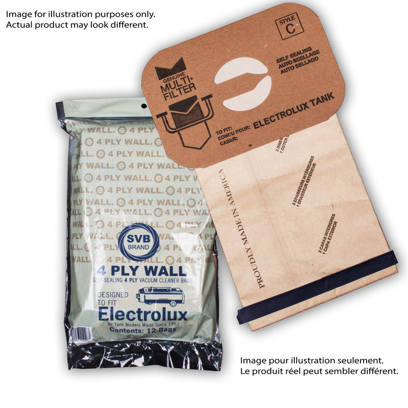Electrolux Style C Bags - MLvac.com