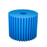 F6500 Foam Filter For Central Vacuums, Blue