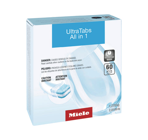 Miele UltraTabs All-in-One, 60 tabs [3x20] - MLvac.com